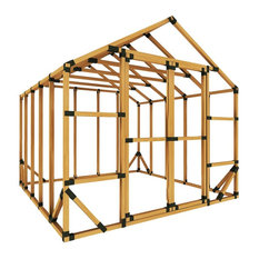 10x10 Standard Storage Shed Kit, With Floor Framing