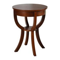 Archer Ridge Side Table Dark Brown