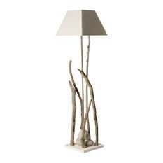 Lagoon Spirit Floor Lamp, Off-White