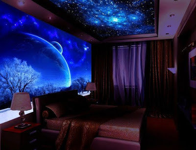 Glow In The Dark Wallpaper For Walls Glowing Wall Murals