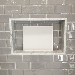 Here Are A Few Pictures Of Gray Tint Up Against My Tile What Do You Think