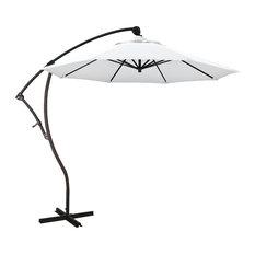 California Umbrella 9' Cantilever Umbrella in White