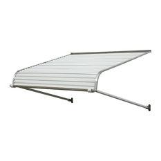 "1100 Series Aluminum Door Canopy 40""x24"" Projection, White"