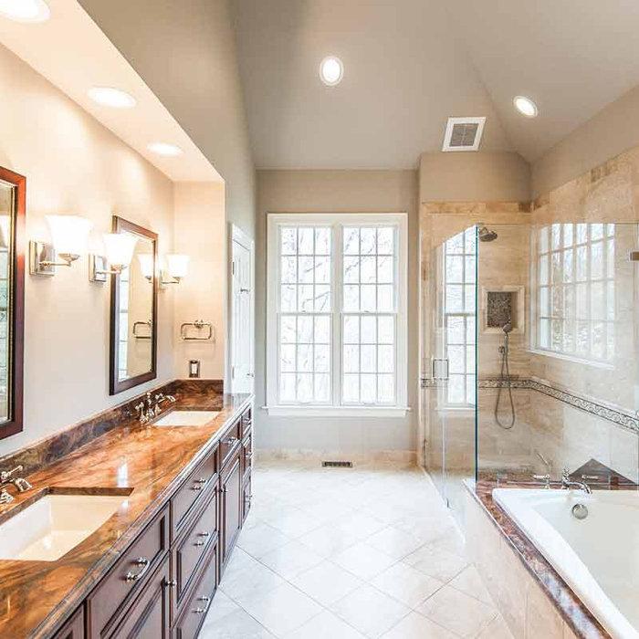 Beautiful Transitional Bathroom