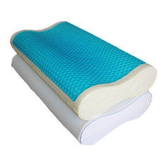 Comfort Contour Cool Gel Memory Foam Pillow, Standard