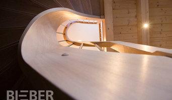 Treppen für Blockhaus