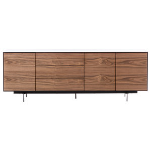 Siviglia Modern Sideboard, 3 Doors and 3 Drawers