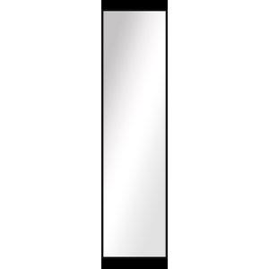Over the Door Imperial Mirror, Black, 16.5x52.5