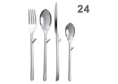 Contemporary Flatware And Silverware Sets by royalvkb.com  sc 1 st  Houzz & Guest Picks: Flatware to Make You Look Twice