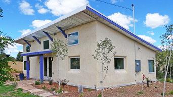EcoSita | passive solar straw bale guest studio