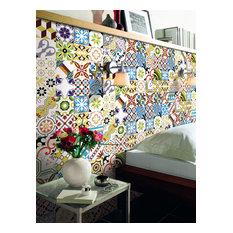Victorian Design Crocus Full Glazed Wall and Floor Tile