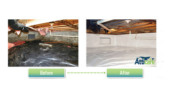 Crawlspace Moisture Barrier