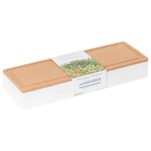 Life in a Bag Grow Box Trio Planter, Beetroot, Cress and Broccoli