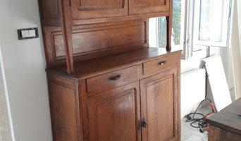 relooking d'un meuble vintage