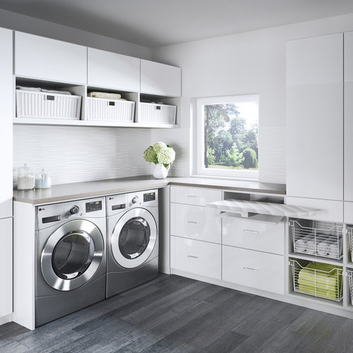 8,000 Contemporary Laundry Room Design Ideas & Remodel Pictures | Houzz
