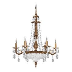 Schonbek chandeliers houzz swarovski lighting schonbek lighting 5691 83a milano florentine bronze 9 light chandelier chandeliers aloadofball Image collections