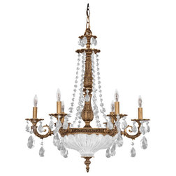 Great Traditional Chandeliers by Littman Bros Lighting