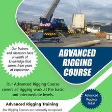 advanced rigging training Brisbane
