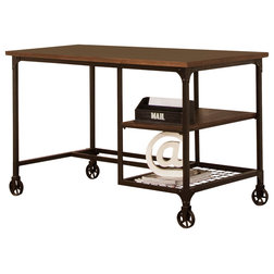 Industrial Desks And Hutches by Sunset Trading