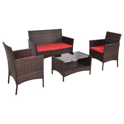 Transitional Outdoor Lounge Sets by Goplus Corp