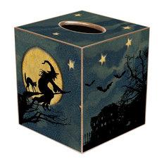 TB1597 -  Halloween Scene Tissue box Cover