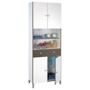 White Kitchen Storage Unit