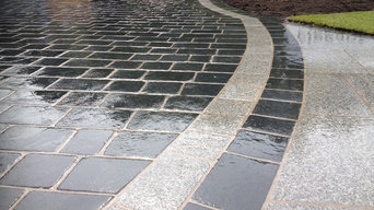 Limestone & Granite Driveway