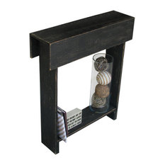 doug and cristy designs iver skinny table black console tables - Tall Console Table
