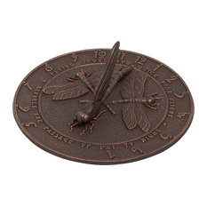 Dragonfly Sundial, Oil Rub Bronze