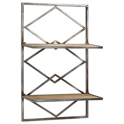 Farmhouse Display And Wall Shelves  by American Art Decor, Inc.