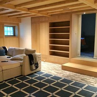 One Of A Kind Rift White Oak Family Media/Rec Room Bedford NY