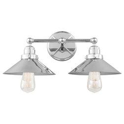 Industrial Bathroom Vanity Lighting by Lampclick