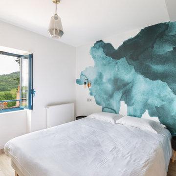 CHEZ ROMAIN - transformation d'une habitation en chambres d'hôtes - 453 m2
