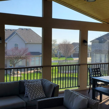Olathe KS Screened Porch Design