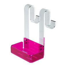 Adele Modern Hanging Shower Organiser, Pink, Small