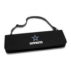 Dallas Cowboys Metro BBQ Tote & Tools Set, Black