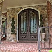 Superb Abby Iron Doors