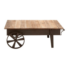 Brimfield U0026 May   Porter Coffee Table Cart   Coffee Tables