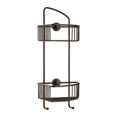 Corner Shower Caddy   No Drilling Required   100% Rustproof