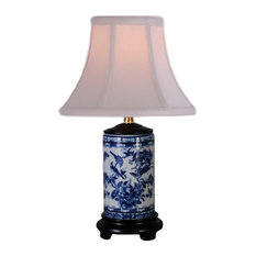 East Enterprises INc   Lovell Porcelain Table Lamp, Blue And White   Table  Lamps