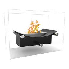 Regal Flame Arkon Tabletop Portable Bio Ethanol Fireplace, Black