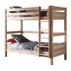 Pino High Bunk Bed, Natural