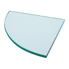 Corner Shelf, Clear Glass