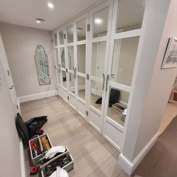 Master bedroom walk in wardrobe | East Wittering