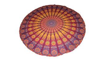 Indian mandala beach roundies beach throw beach towel