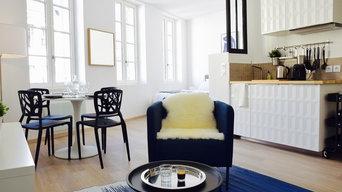 Décoration studio pour du Airbnb