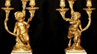 Bronze Candelabrum