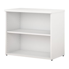 400 Series 2-Shelf Bookcase, White
