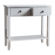 Windsor Console Table, 2 Drawers