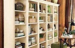 Tuscan Flush Bookcases - Set of 5